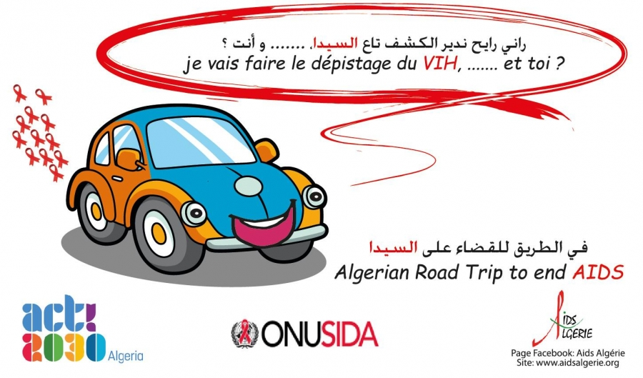Algerian Road Trip to End Aids